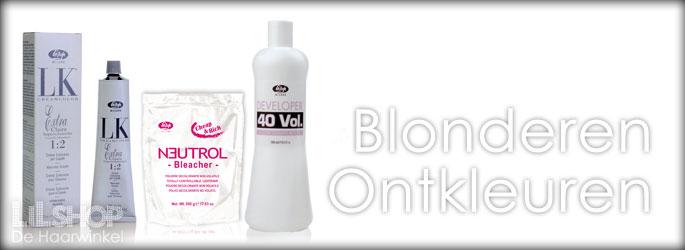 Blondeer producten bij LiLShop.