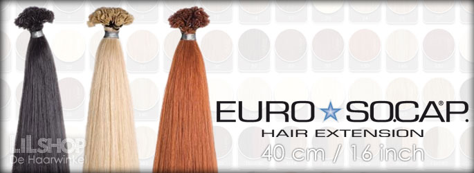 Euro SoCap Human Hair Extensions 40 cm Remy quality.