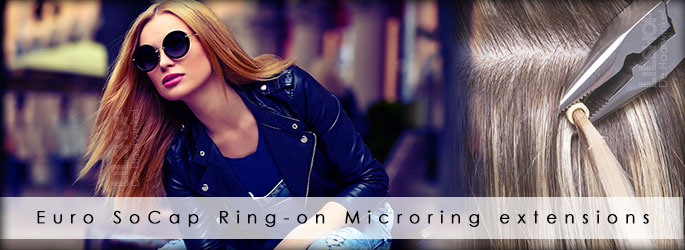 Microring extensions ring-on by Euro SoCap.