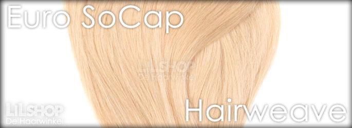 Hairweave, weft van Euro SoCap voor een mooie haarverlenging