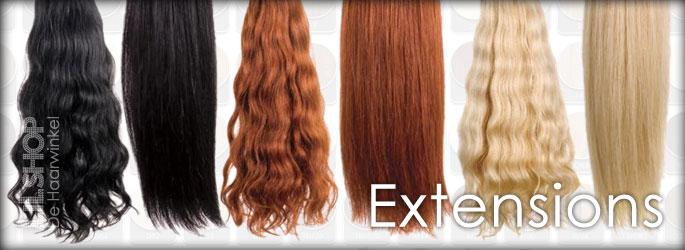 Extensions voor haarverlenging bij LiLShop de Haarwinkel