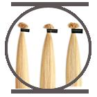 Extensions in cirkel met verschillende lengtes.
