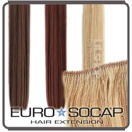 Hairweave merk: Euro SoCap.