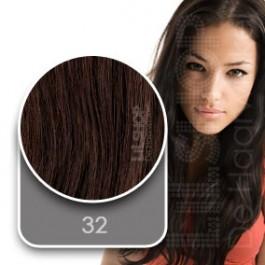 Euro SoCap Sticker extensions kleur: 32 Intens Mahonie