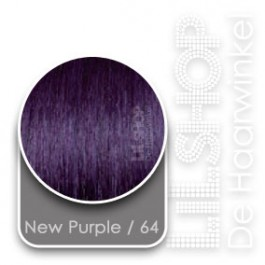 Crazy Color Funky extensions Echt Haar Kleur: 64 New Purple