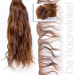 Braziliaans haar, Brazilian Hair 30cm Handgeweven kleur: 27 Honing