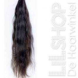Brazilian Hair handgeweven 100 grams bundel #2 Zeer Donkerbruin.