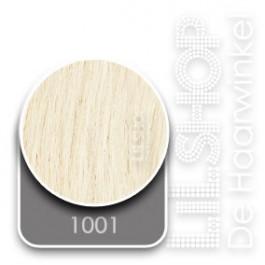 1001 Platinablond Euro SoCap Extensions steil 60cm/24inch