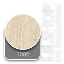 1002 Extra licht blond Euro SoCap Extensions steil 60cm/24inch