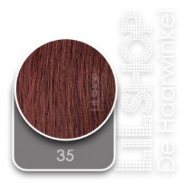 35 Intens Rood Euro SoCap Extensions steil 60cm/24inch