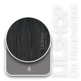 4 Donker Kastanjebruin Euro SoCap Extensions steil 60cm/24inch