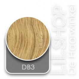 DB3 Goudblond Euro SoCap Extensions steil 60cm/24inch