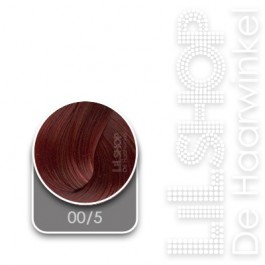 00/5 Diep Rood Lisap LK Creamcolor Haarverf Haircolor.
