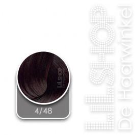 4/48 Midden Mahonieviolet Bruin LK Creamcolor Haarverf Haircolor.