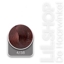 4/58 Midden Roodviolet Bruin LK Creamcolor Haarverf Haircolor.