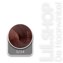5/54 Licht Roodmahonie Bruin LK Creamcolor Haarverf Haircolor.