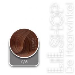7/6 Midden Koperblond LK Creamcolor Haarverf Haircolor.