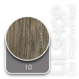 10 Donkerblond Original SoCap Extensions Steil 40cm/16inch