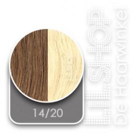 14/20 Blond Lichtblond Original SoCap Extensions Steil 50cm/20inch