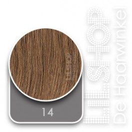 14 Blond Original SoCap Extensions Steil 50cm/20inch
