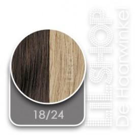 18/24 Bruin / Diep Asblond SoCap Original Extensions Natural Weave 50cm/20inch