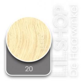 20 Lichtblond SoCap Original Extensions Natural Weave 50cm/20inch