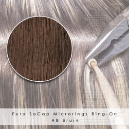 Ring-On Microrings Hairextensions in 8 Bruin
