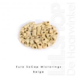 Euro SoCap Rings Beige 1000 st. voor Micro Rings
