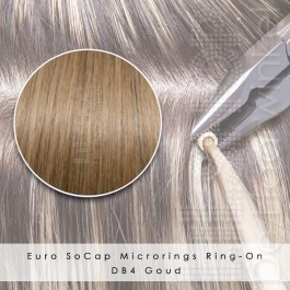 Ring-On Microrings Hairextensions in DB4 Goud