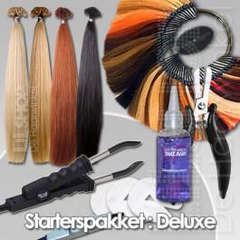 Haarextensions starterspakket Deluxe