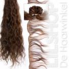 Braziliaans haar, Brazilian Hair 30cm Handgeweven kleur: 6 Kastanjebruin