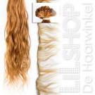 Braziliaans haar, Brazilian Hair 70cm Handgeweven kleur: DB2 Donkerblond