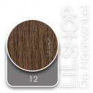 12 Donker Goudblond Euro SoCap Extensions steil 50cm/20inch