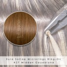 Ring-On Microrings Hairextensions in 27 Midden Goudblond